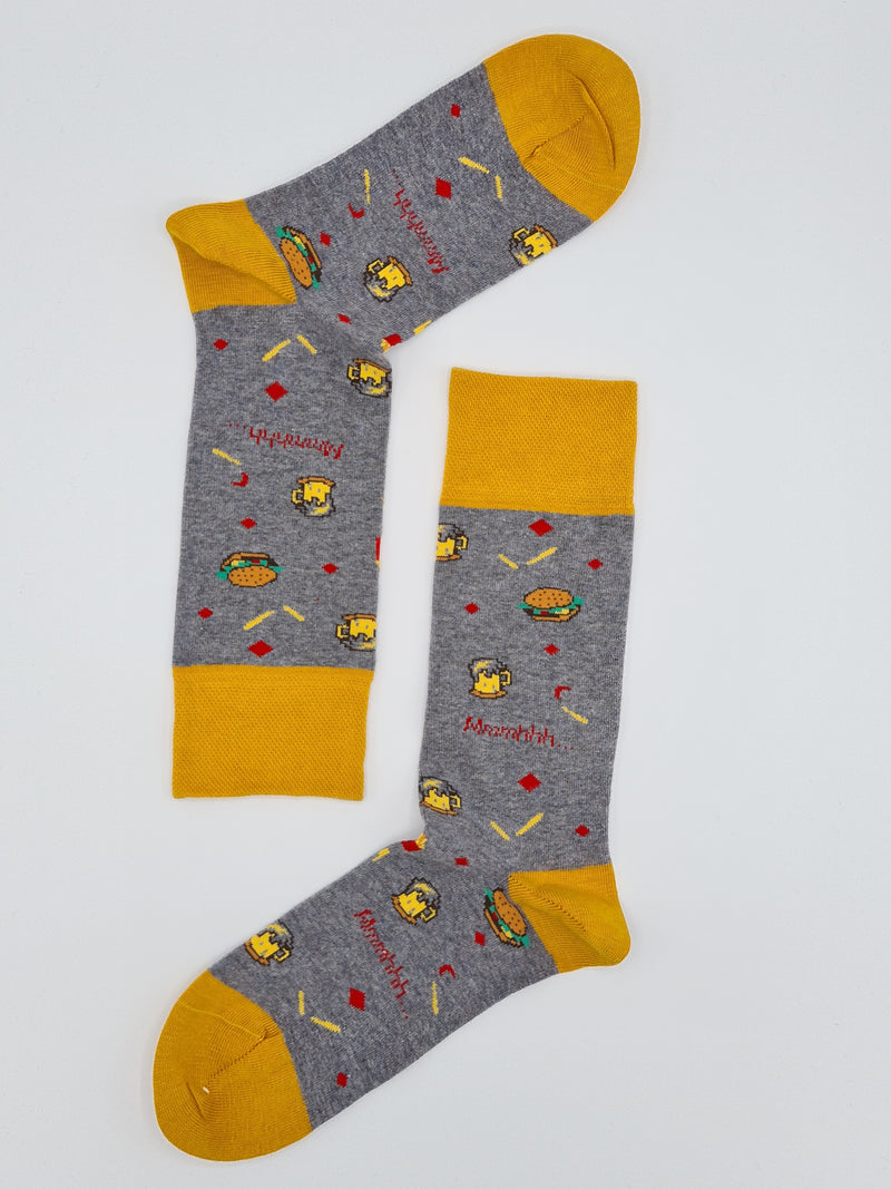 Men's fun socks Yummy food ( 3+1 Free )