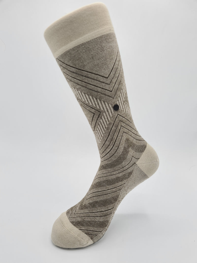 Men's thin classic socks natural an breathable Modal 18136