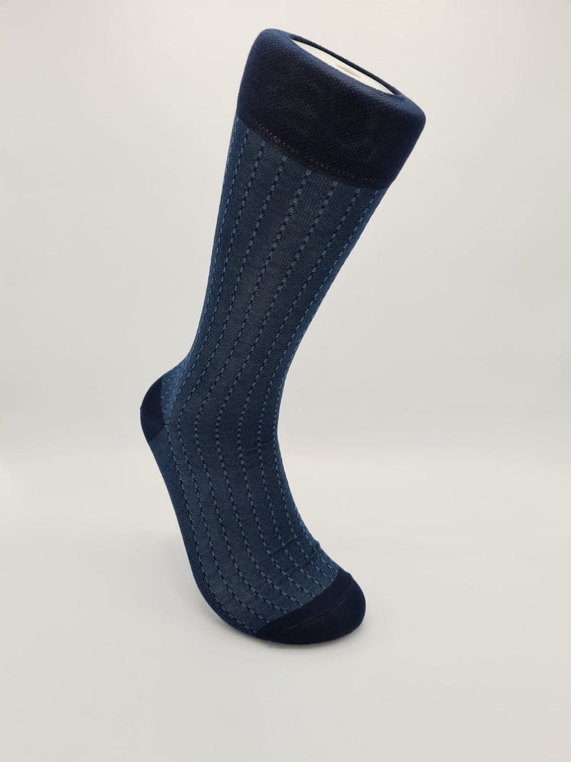 Men's mercerised cotton socks 50103