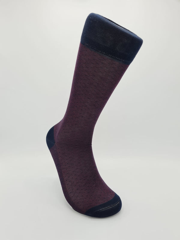 Men's mercerised cotton socks 50104