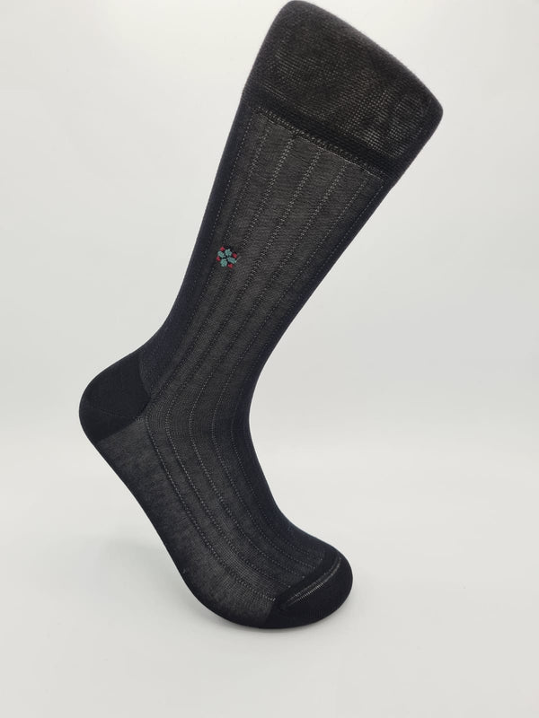 Men's mercerised cotton socks 50105