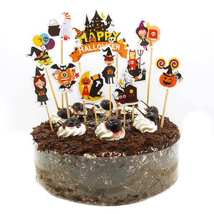 Halloween Cake Topper | Happy Halloween Cake Topper Cake Decorations For Halloween Festival