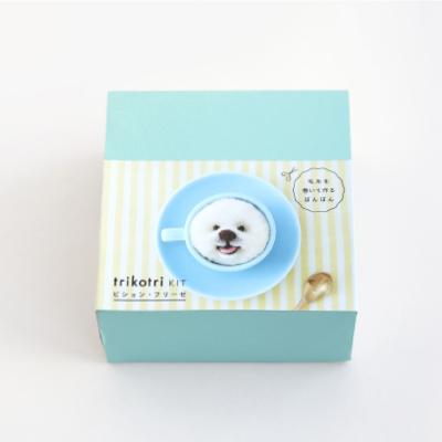Daruma Trikotri SET - Dog & Cat + Pom Pom maker