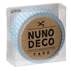 Nuno Deco Fabric Tape - Check | Dot