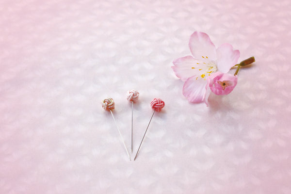 Cohana SAKURA 2021 Limited Edition Iida Mizuhiki Sewing Pins