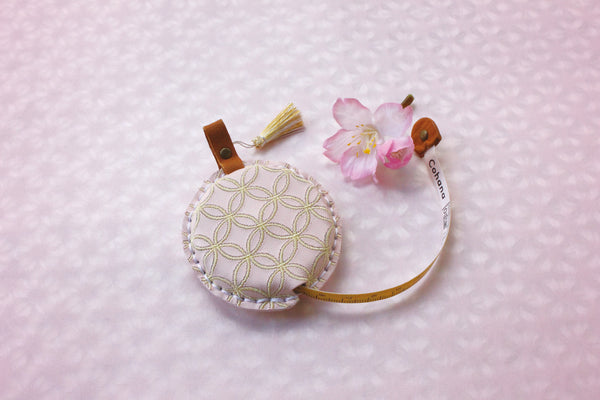 Cohana SAKURA 2021 Limited Edition Tape Measure with Shippou Pattern Cover