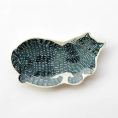 Kata Kata ceramic dish - Cat