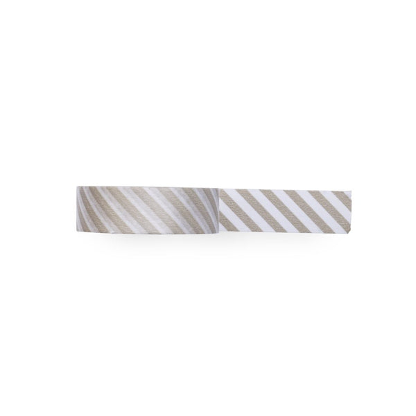 diagonal-taupe-stripe-washi-tape