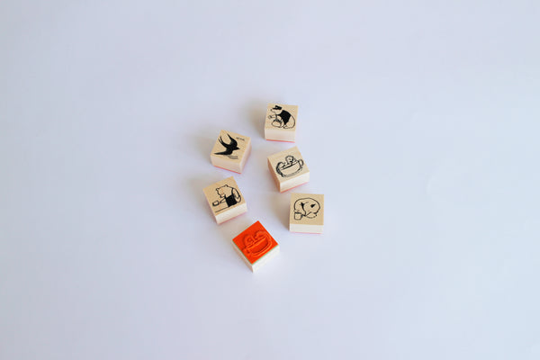 Rubber stamps by Momoro: Bear series