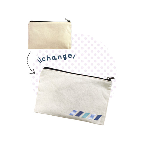 Nuno Deco - Zip up pouch