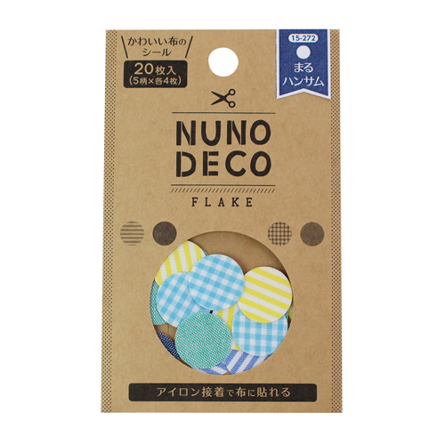 Nuno Deco - Flake Fabric Shapes - Dots - Hansamu