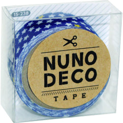 Nuno Deco Fabric Tape - Stripe | Star | Heart