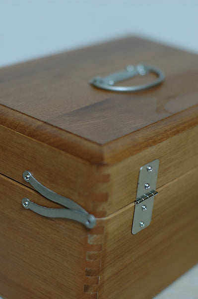 Classiky - First Aid Kit / Wood Tool boxes in 3 sizes