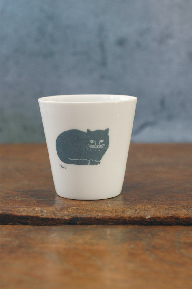 Classiky - Blue Cat Eggshell Cup