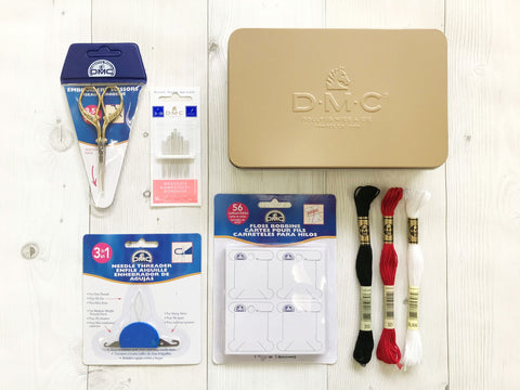 DMC embroidery starter kit