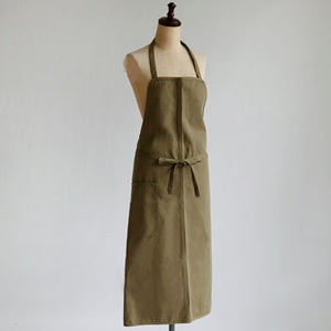 Classic apron - Cotton drill - fawn or khaki
