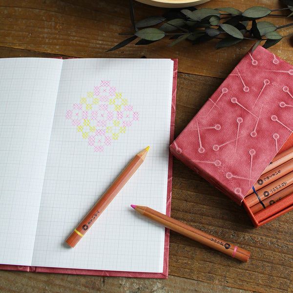 Cohana Ukigami Memo Pad with 2.5mm Grid Paper