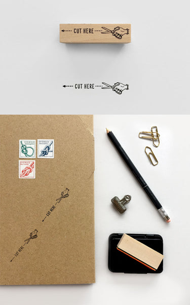 Rubber Stamps by Knoop Works - Package and shipping stamps