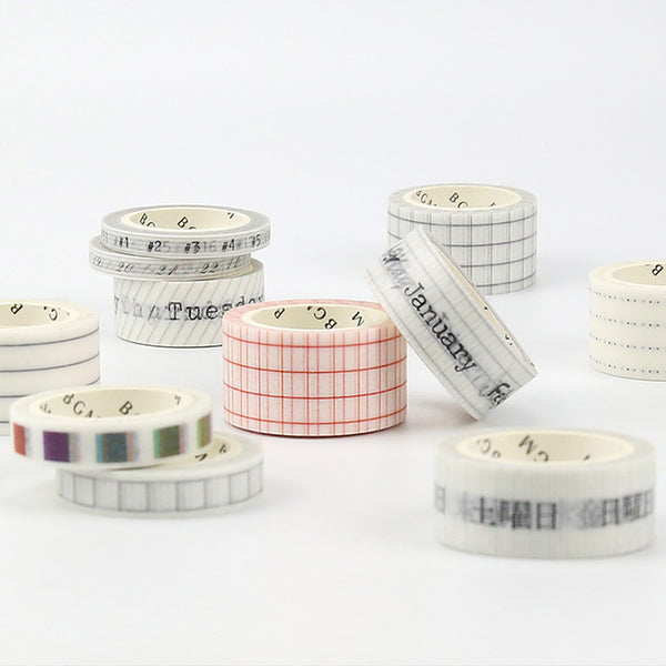 BGM Washi Tape - Journal Range - Dots