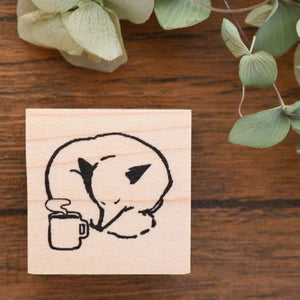 Rubber stamps by Momoro: Fox series