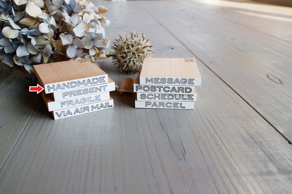 Rubber stamps by Osco Lobo: Postal Series
