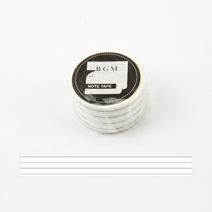 BGM Washi Tape - Journal Range - Lines