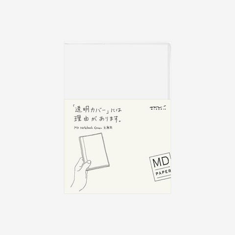 Midori Md-Note - Transparent Cover - Small Paperback Size - PVC