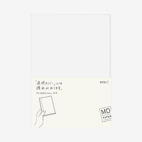 Midori Md-Note - Transparent Cover - Pvc - A5 Hardcover Size