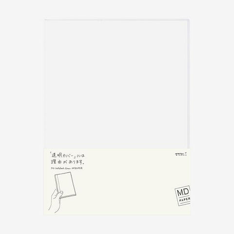 Midori Md-Note - Transparent Cover - A4 Variant Size - Pvc - Magazine Size