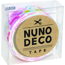Nuno Deco Fabric Tape - Flower