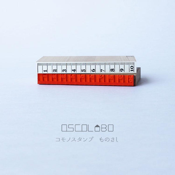 OSCO Labo Stamp Ruler Scale