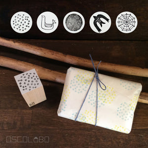 Rubber stamps by Osco Lobo: Sola Moiyo