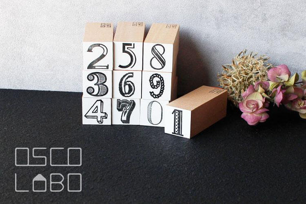 OSCOLABO Numbers 10 Piece Set