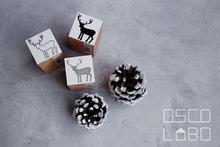 Rubber stamps by Osco Labo: Reindeer