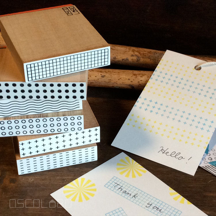 Rubber stamps by Osco Labo: Tapef