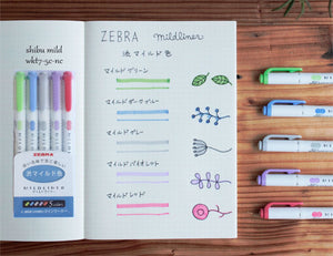 Shibu /Cool & Refined x 5 Pens