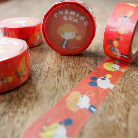 Washi tape by Sunny Sunday: Chewing Gum