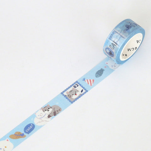 BGM Washi tape Cat series - Persian