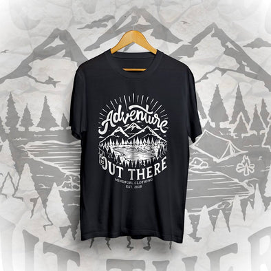 Adventure Out There Tee - Black