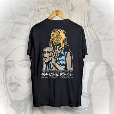 Never Real Tee - Black