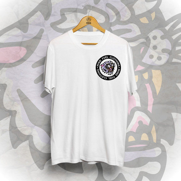 Tiger Fuel Pocket Tee - White