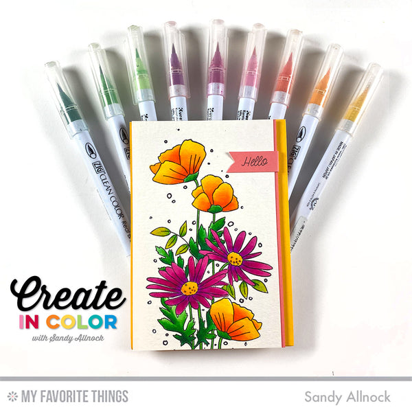 Grab Your Markers — Bold Colors Blooming in This Month's Create in Color!