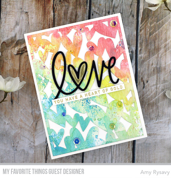 Last Day to Stock Your Stash with Love & Save Plus LOTS of Love from Guest Designer Amy Rysavy!