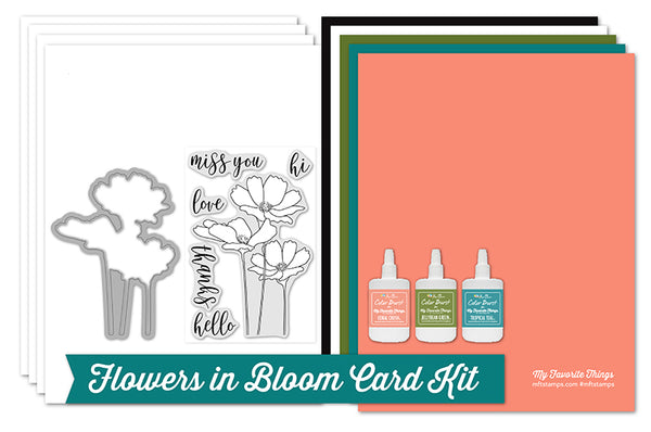 Make the Flowers in Bloom Card Kit — Featuring *Exclusive* Color Bursts — Yours Today!