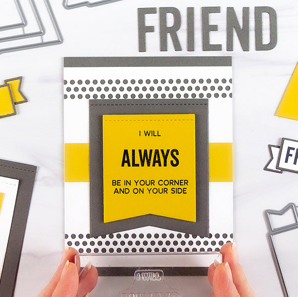 Craft Cards As Unique As Your Cherished Friends with the Friendship Card Kit