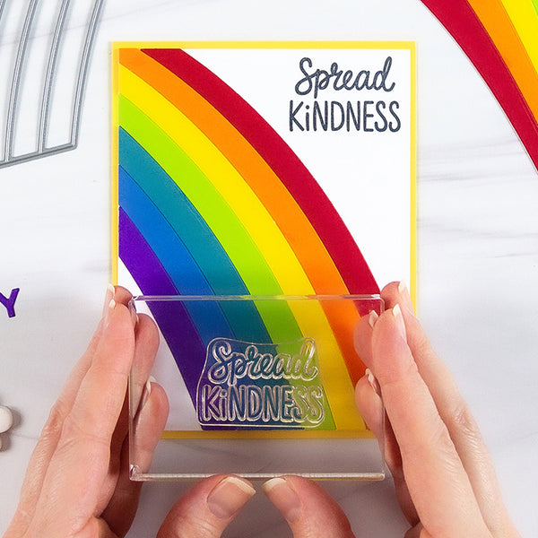 Send Good Vibes, Kindness, & Encouragement with the Wild About Rainbows Card Kit