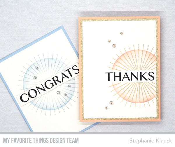 Time to Check Out More Inspiring Projects from the Team Featuring the Starburst Card Kit!