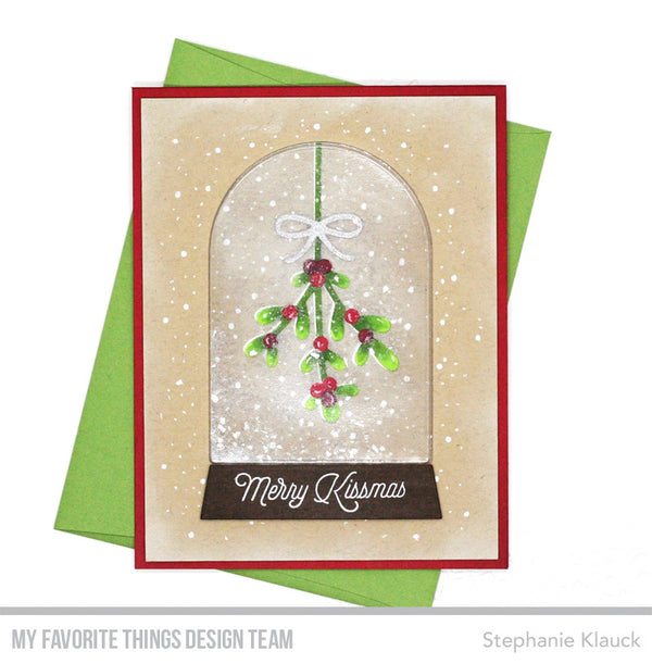Take Another Look at the Snow Globe Greetings Card Kit Before Making It Yours Tomorrow!