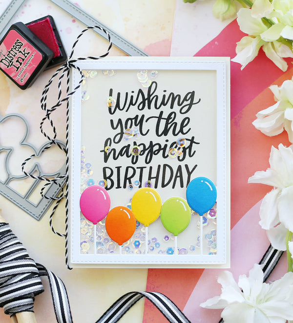 The Happiest Birthdays Feature Balloons (and Shakers!) – Spark Your Creativity with Laura