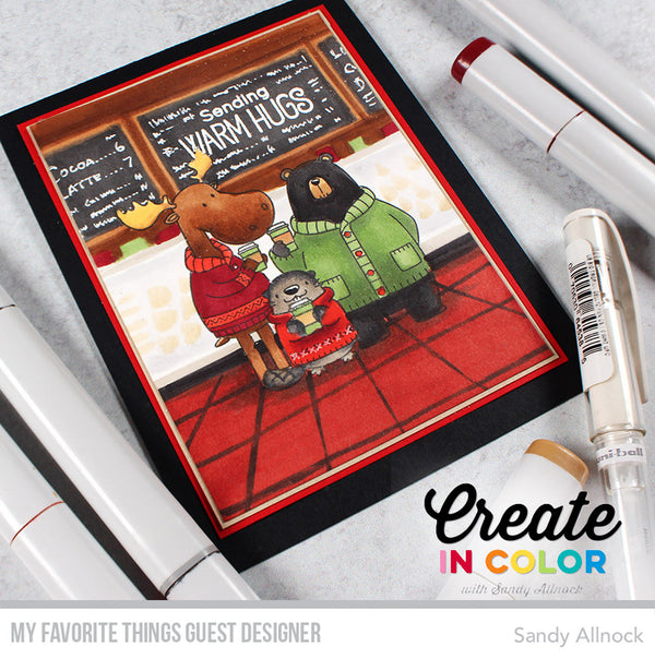 Find Out If You're a $100 Winner and Then Create in Color with Sandy!